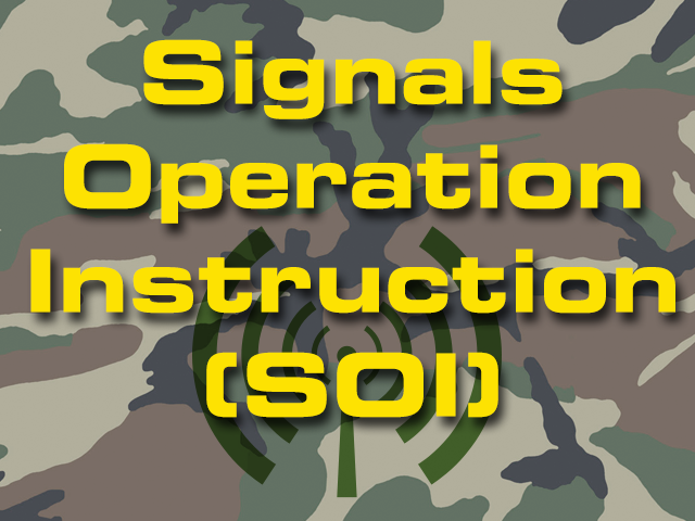 Signals Operation Instruction (SOI)